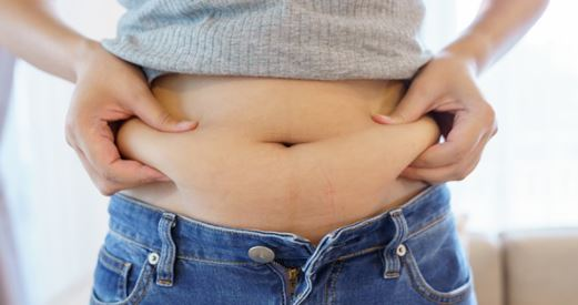 To burn belly fat